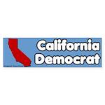 California Democrat Bumper Sticker