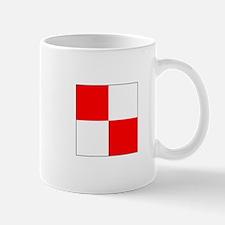 ICS Flag Letter U Mugs