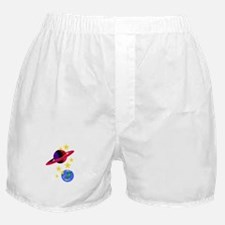 Outer Space Boxer Shorts