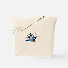 Cartton Wizard Tote Bag