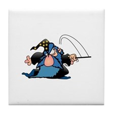 Cartton Wizard Tile Coaster