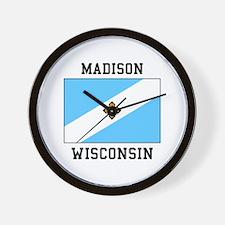 Madison, Wisconsin Wall Clock