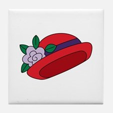 Red Cap Tile Coaster