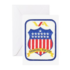 V.A. Police Greeting Cards (Pk of 20)