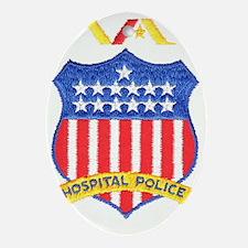 V.A. Police Oval Ornament