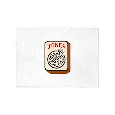 Joker 5'x7'Area Rug