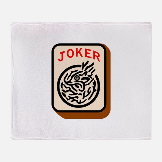 Joker Throw Blanket