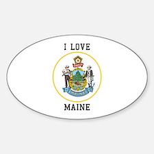 I Love Maine Decal