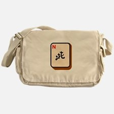 Mahjong North Messenger Bag