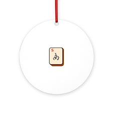 Mahjong South Ornament (Round)