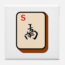 Mahjong South Tile Coaster