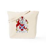 Willington Family Crest Tote Bag