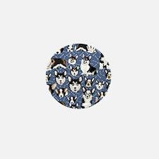 Corgi Dogs (Blue Bones) Mini Button