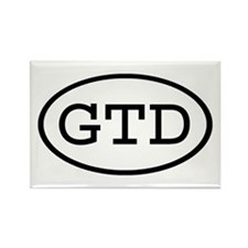 GTD Oval Rectangle Magnet