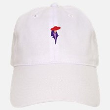 Gal In Red Hat Baseball Baseball Baseball Cap