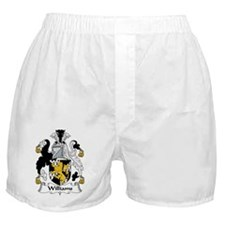 Williams Family Crest Boxer Shorts