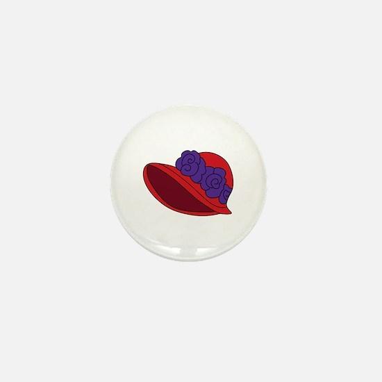 Red Hat Mini Button