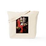 Lady / Pug Tote Bag