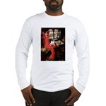 Lady / Pug Long Sleeve T-Shirt