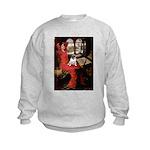 Lady / Pug Kids Sweatshirt
