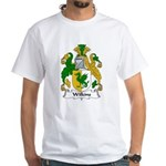 Wilkins Family Crest White T-Shirt