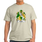Wilkins Family Crest Light T-Shirt