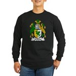 Wilkins Family Crest Long Sleeve Dark T-Shirt
