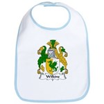 Wilkins Family Crest Bib