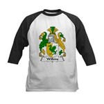 Wilkins Family Crest Kids Baseball Jersey