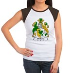 Wilkins Family Crest Women's Cap Sleeve T-Shirt