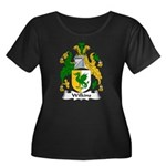 Wilkins Family Crest Women's Plus Size Scoop Neck