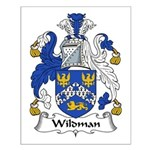 Wildman Family Crest Small Poster