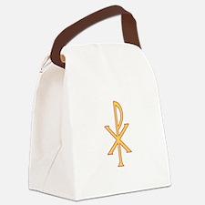 Christ Symbol Canvas Lunch Bag