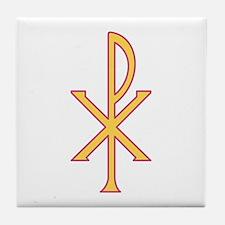 Christ Symbol Tile Coaster