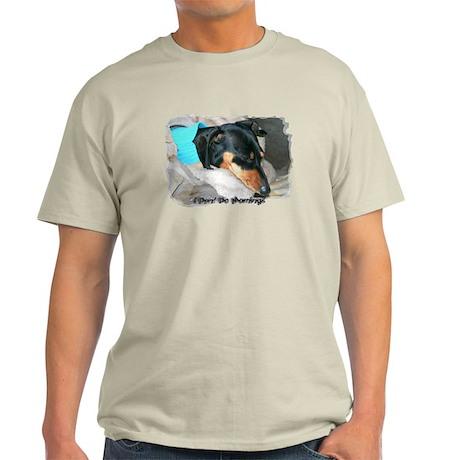 I Dont Do Mornings Doxie Light T-Shirt