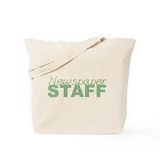 Newspaper Staff Tote Bag