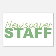 Newspaper Staff Postcards (Package of 8)