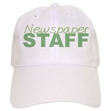 Newspaper Staff Baseball Cap