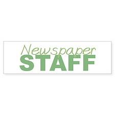 Newspaper Staff Bumper Bumper Sticker