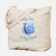 Son Police Hero Tote Bag