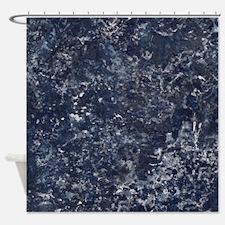 Blue Sea Storm Shower Curtain