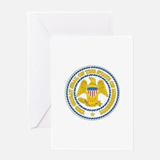 Mississippi State Seal Greeting Cards