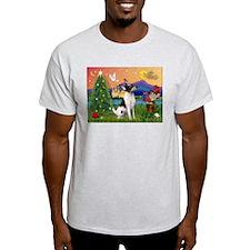 Xmas Fantasy & Toy Fox T T-Shirt