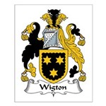 Wigton Family Crest Small Poster