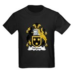 Wigton Family Crest Kids Dark T-Shirt