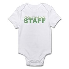 Newspaper Staff Infant Bodysuit