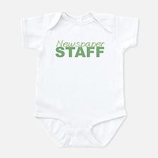 Newspaper Staff Infant Bodysuit
