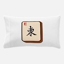 Mahjong East Pillow Case
