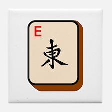 Mahjong East Tile Coaster