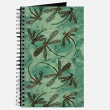 Dragonfly Flit Myrtle Green Journal